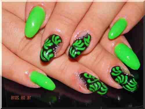 Ногти Гель Овальные Дизайн