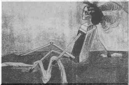 Dracula karikatúra porno
