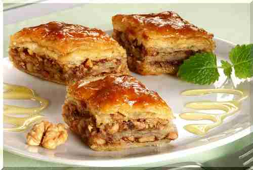 Пахлава з листкового тіста – кулінарний рецепт з фото, як приготувати на смачно будинку