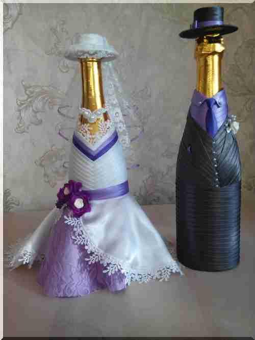Весільні пляшки – найцікавіше в блогах