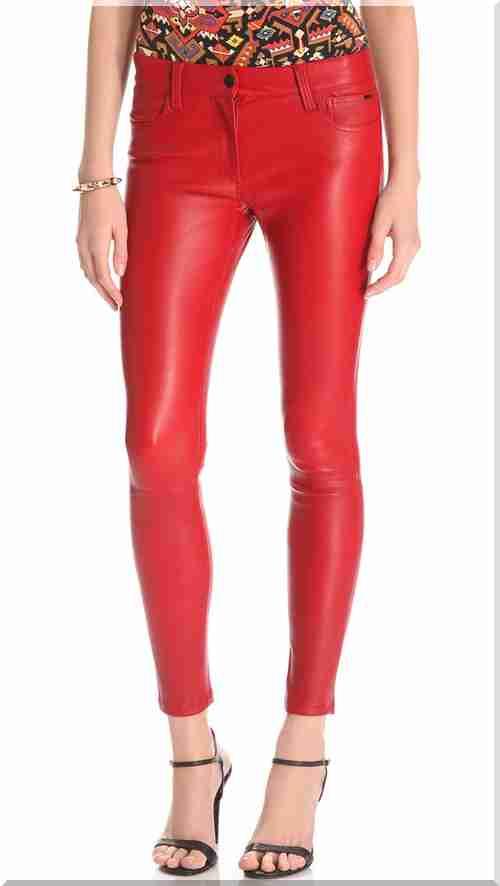 89be44a0a5b Джо # X27; и дънки кожени панталони кльощави.