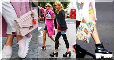 З явилася ця взуття не так давно. У 2014 році подібні туфлі випустили  дизайнери знаменитого модного будинку Jeffrey Campbell. 54b16362cec86