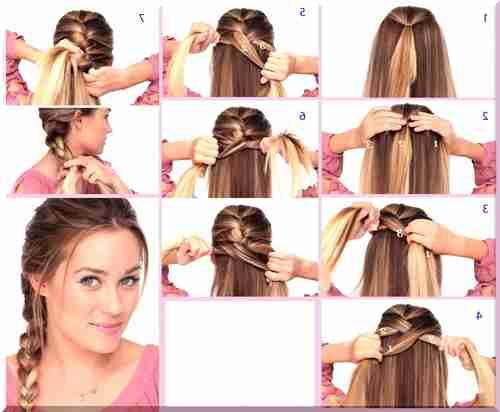 Как самостоятельно плести косы на себе