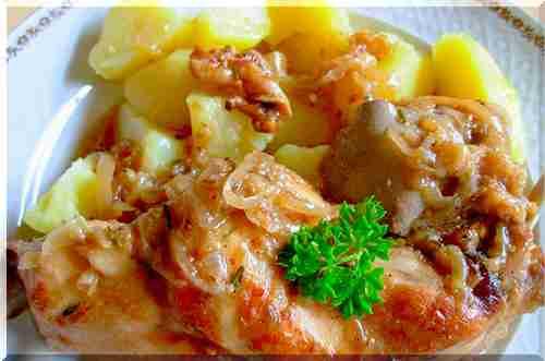 Кролик с картофелем в сметане в мультиварке рецепт