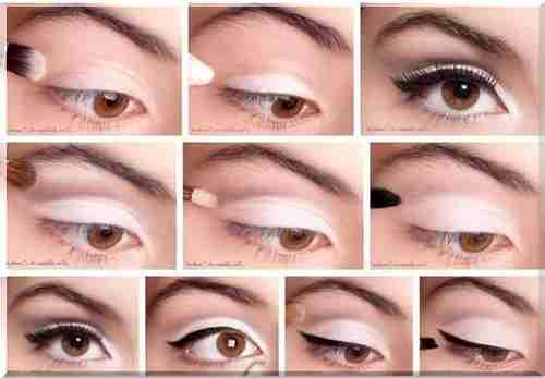 Красивый макияж для подростков с карими глазами