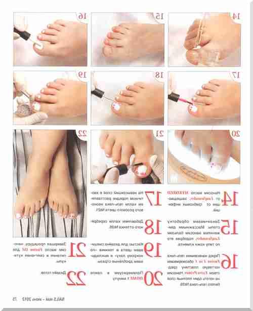 Пошаговая инструкция маникюра с описанием