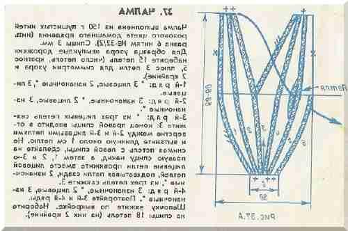 Вязание чалмы на спицах с описанием 33