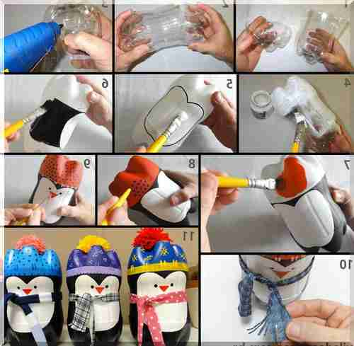 Поделки своими руками пошаговое из пластиковых бутылок