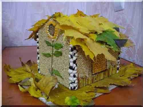 Фото поделки на тему осень в садик