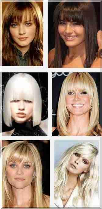 Odpowiednie Fryzury Na Krótkie Lub Długie Włosy Na Okrągłej