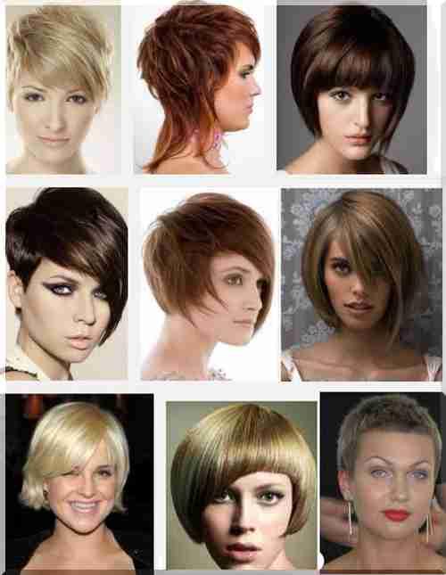 Odpowiednie Fryzury Na Krótkie Lub Długie Włosy Na Okrągłej Pełnej