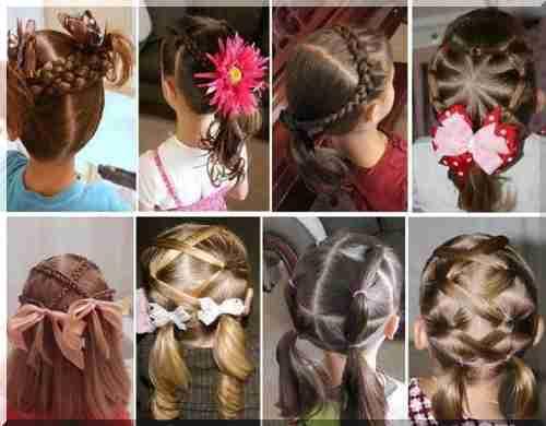Fryzury Dla Dziewczynek Codziennie Zdjęcia Fryzury Dla