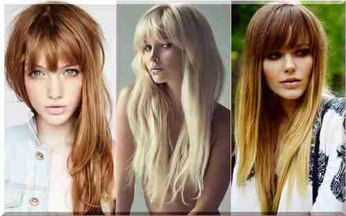 Fryzury Długie Włosy Z Grzywką 2015