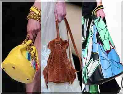 d1ab114d6e5a7 Kolorowe torby i torebki zdobione warunkiem i Marni Moschino, natomiast  Loewe, Giorgio Armani, Alberta Ferretti, Gucci i innych uprzywilejowanych  ...