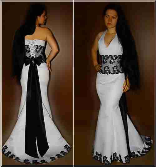 Как сделать из корсета платье 637