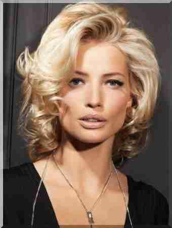 Wieczorowe Fryzury Dla średnich Włosów Porady Piękności